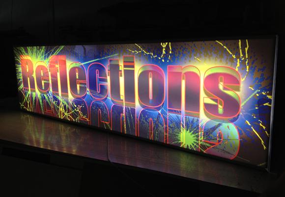 illuminated display